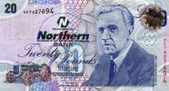 Northern Bank £20 note